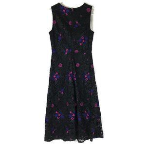 Dkny Dresses - NWOT DKNY Fit & Flare Floral Lace Overlay Dress